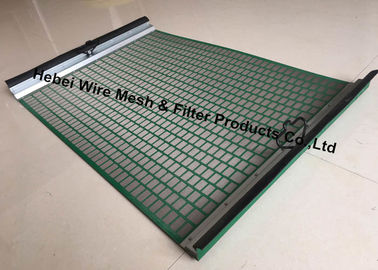 Durable High Penetration Shale Shaker Screen Triple Layer Laminated Wire Mesh